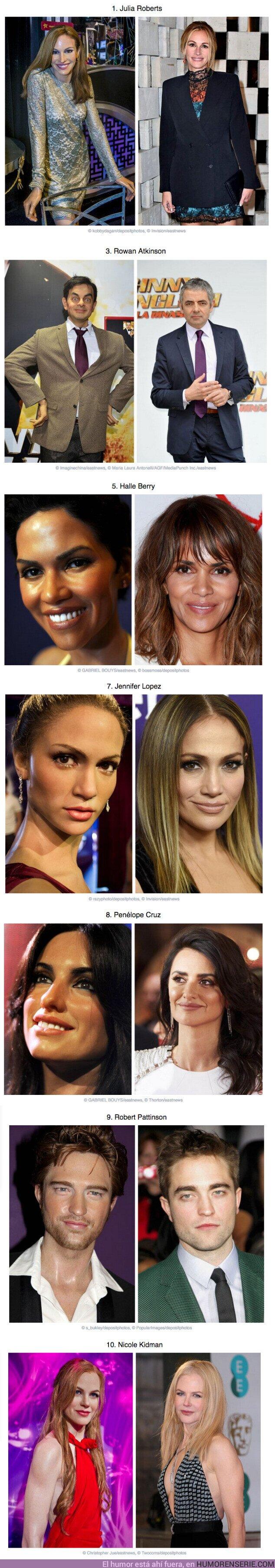 58748 - GALERÍA: 7 Figuras de cera de famosos que jamás adivinarías quiénes son si no fuera por su descripción