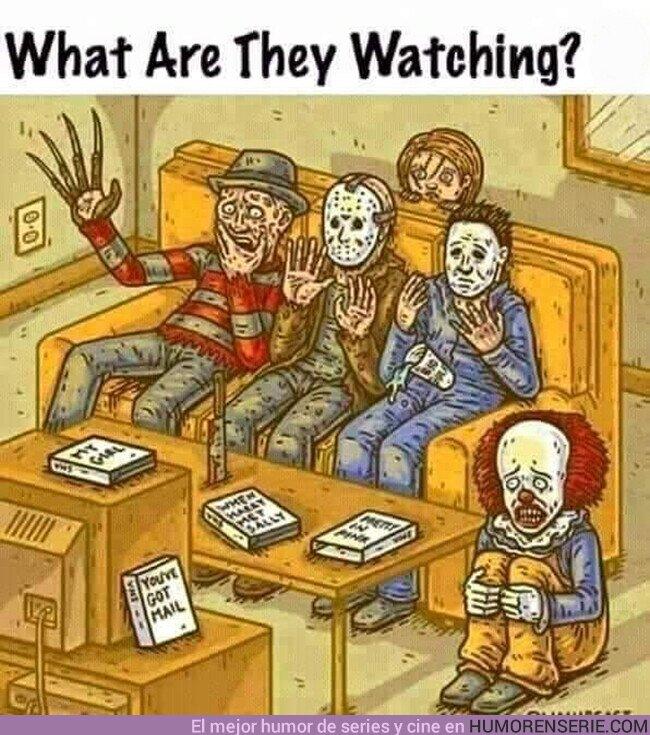 58767 - ¿Qué creéis que están viendo?