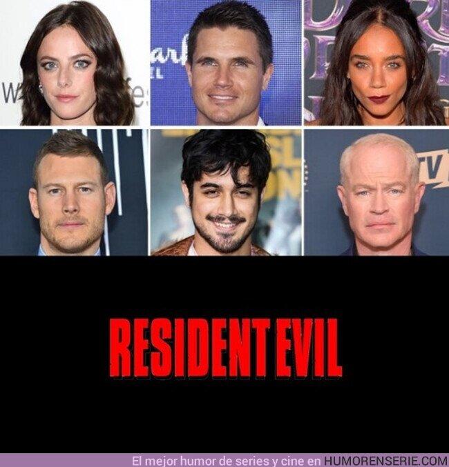 59124 - Actores confirmados para la nueva película de Resident Evil