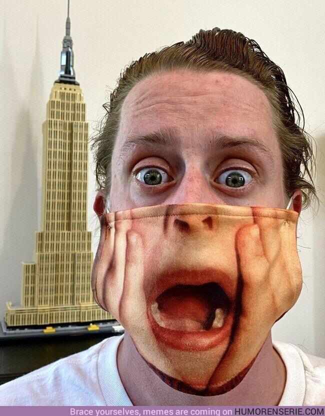 59150 - La mascarilla de Macaulay Culkin es lo mejor que verás hoy