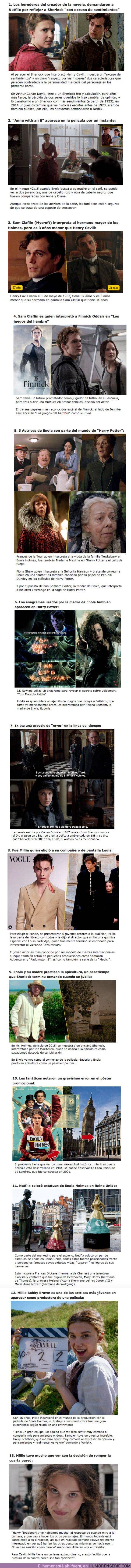 """59279 - GALERÍA: 13 Curiosidades que debes saber sobre la película de Netflix """"Enola Holmes"""""""