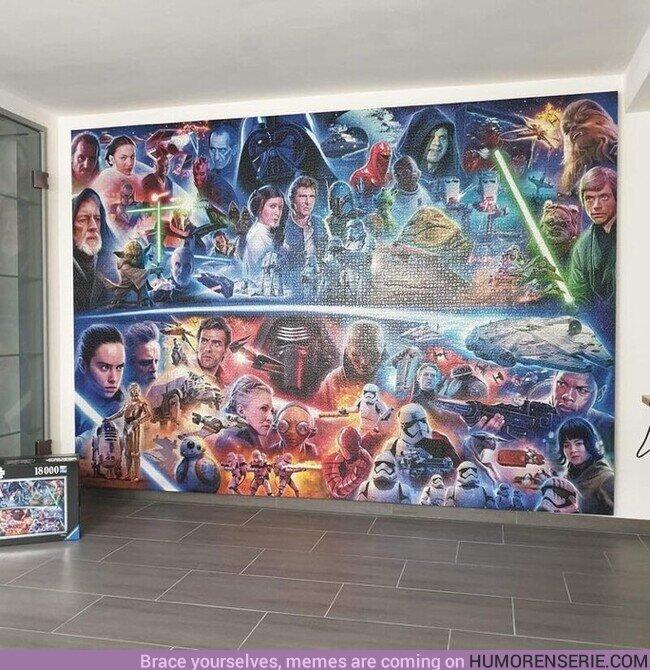 59682 - Puzzle de Star Wars con 18.000 piezas.
