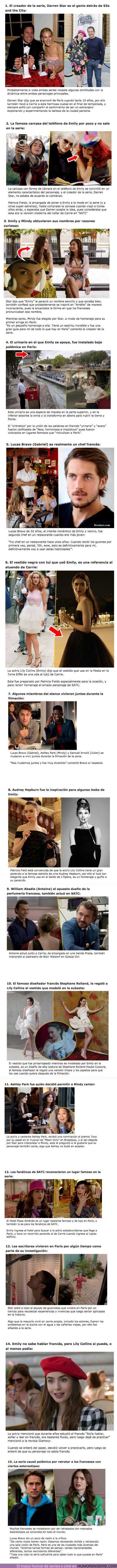"""59783 - GALERÍA: 15 Curiosidades que debes saber sobre la serie de Netflix """"Emily in Paris"""""""