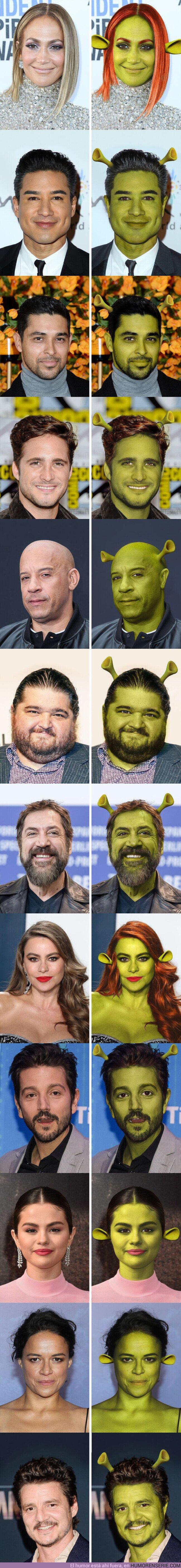 59921 - GALERÍA: Así lucirían 12 celebridades si fueran ogresas como Fiona (también hay varios como Shrek)