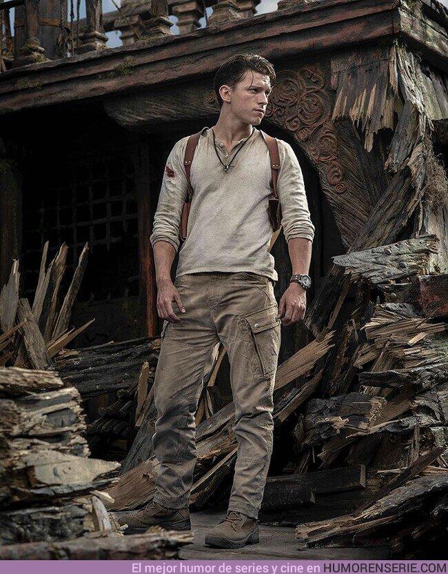 59963 - Primera imagen de Tom Holland como Nathan Drake