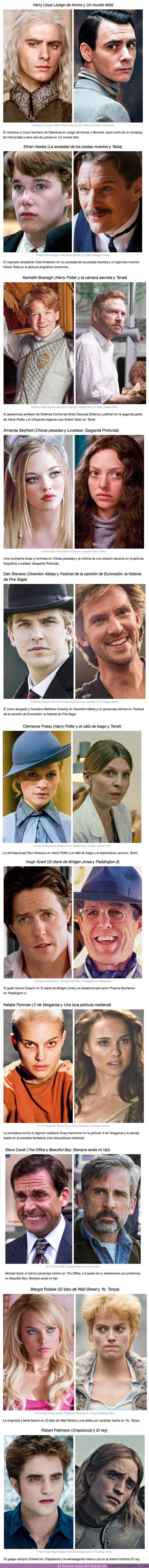 60072 - GALERÍA: 11 Actores que transformaron su imagen tan exitosamente que hicieron que el público se enamorara de ellos más de una vez