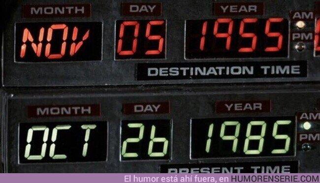 60147 - Hoy hace 35 años que Marty McFly emprendió su primer e increíble viaje