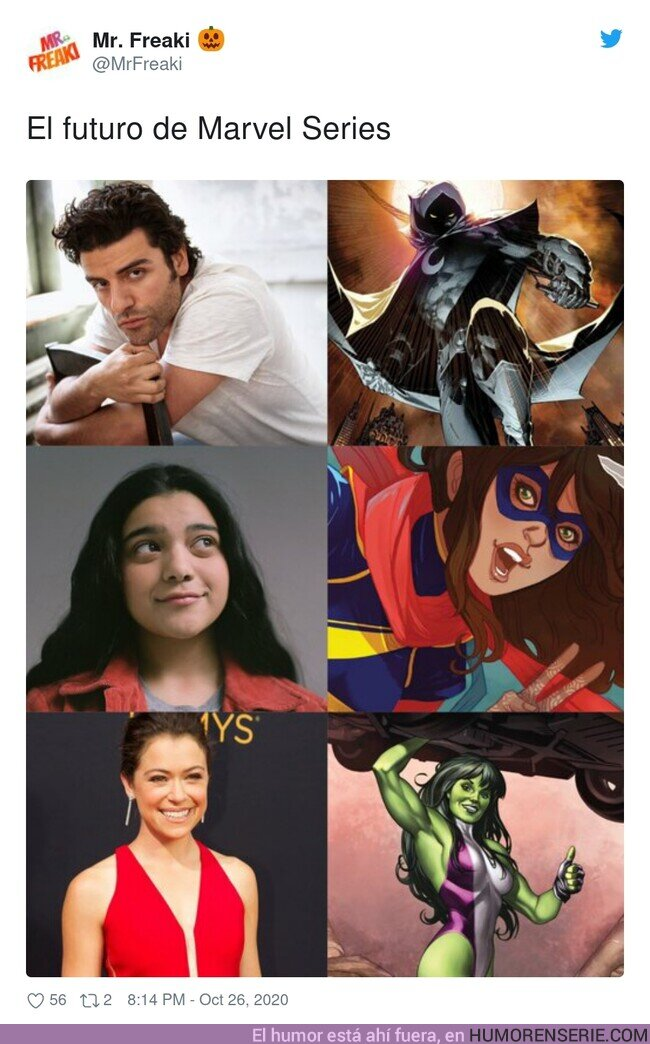60257 - El futuro de las series de Marvel. Por @Mrfreaki