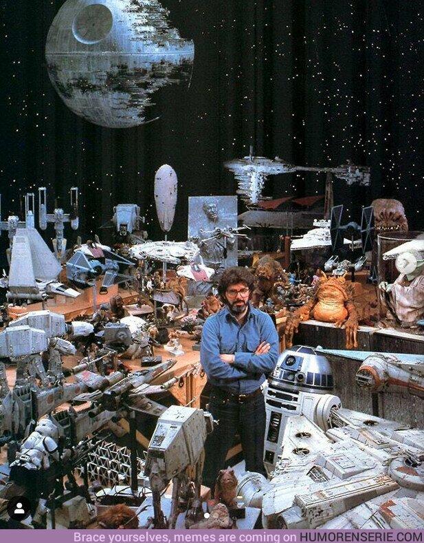 60270 - George Lucas y su colección de #StarWars