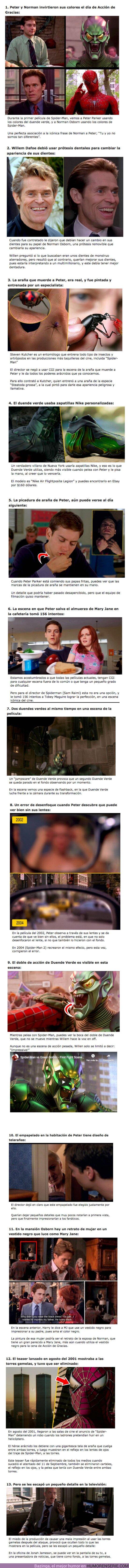 60490 - GALERÍA: 13 Curiosidades sobre el Spider-Man de Tobey Maguire ¿La mejor o Peor Saga?