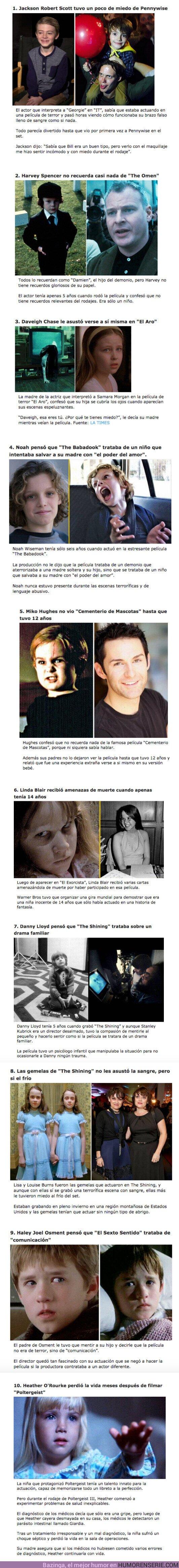 60513 - GALERÍA: 10 Consecuencias que tuvieron los niños actores tras participar en una película de terror