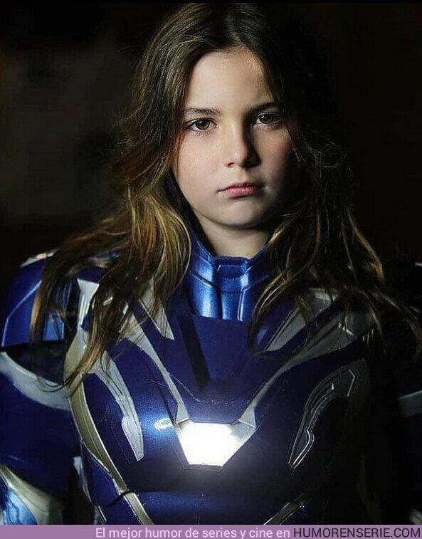 60555 - Morgan Stark, preparada para continuar el legado de su padre.