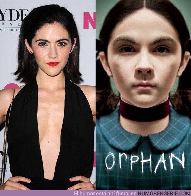 60653 - Se confirma que la actriz Isabelle Fuhrman volverá a interpretar a Esther en la precuela de #LaHuérfana que ya se encuentra en producción.