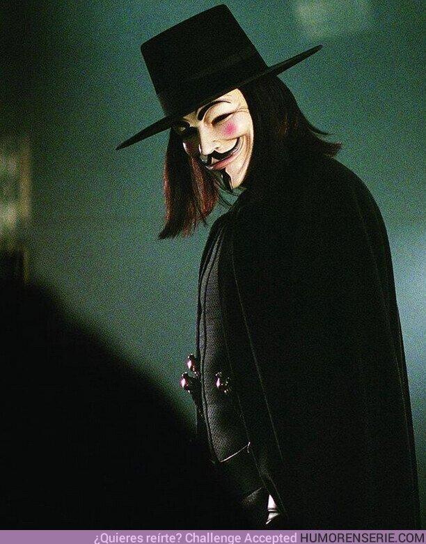 """60793 - """"Recuerden, recuerden, el 5 de noviembre. Conspiración, pólvora y traición. No veo la demora y siempre es la hora para evocarla sin dilación"""""""