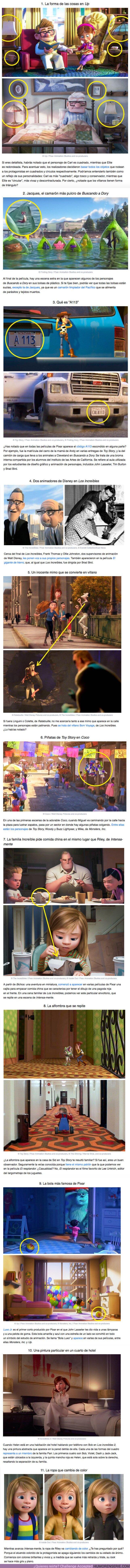 60937 - GALERÍA: 11 Detalles en las películas de Pixar que casi nadie notó en lo absoluto