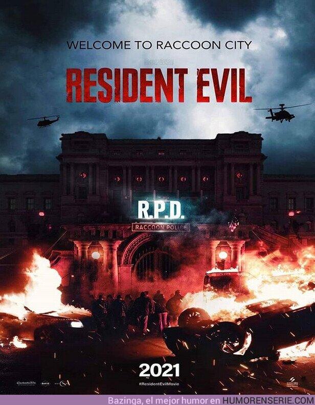 61205 - Pintaza la nueva peli de Resident Evil