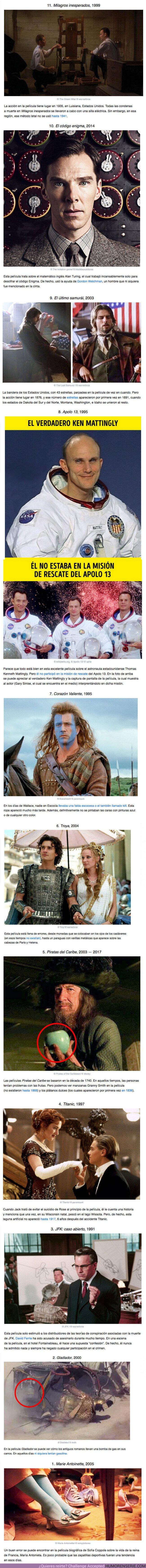 61260 - GALERÍA: Errores ridículos de las películas históricas que casi nadie notó, ¡ni siquiera los fanáticos más atentos!