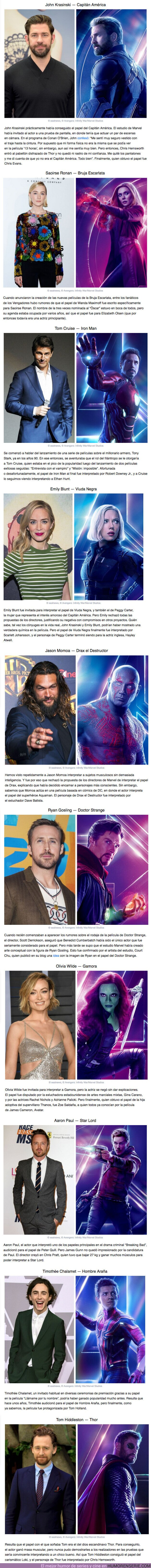 """61270 - GALERÍA: Actores que debían actuar en los """"Los Vengadores"""", pero el destino quiso algo distinto"""
