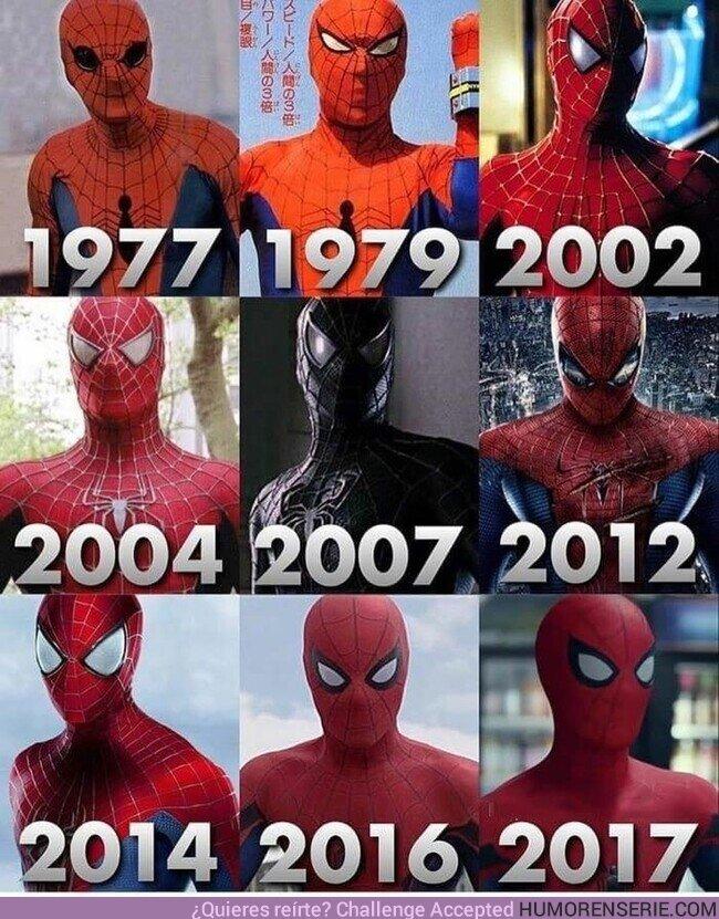 61553 - Spider-man a lo largo de los años en el cine