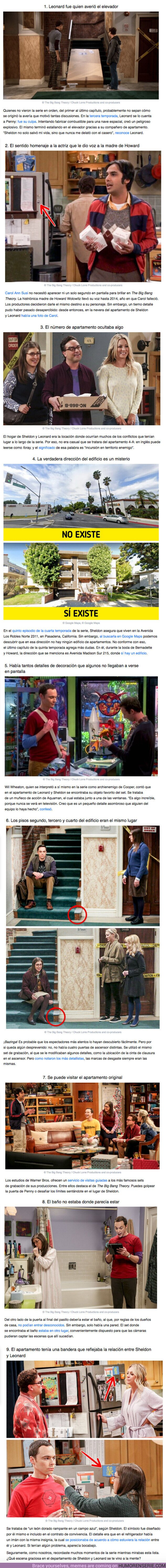 """61599 - GALERÍA: Descubre algunos detalles que muchos no notaron en """"The Big Bang Theory"""""""