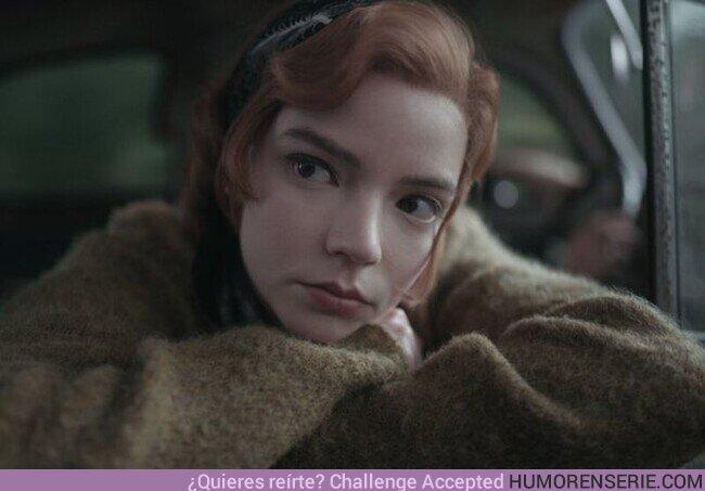 61690 - 'Gambito de dama' se convierte en la miniserie más vista en la historia de Netflix ♟