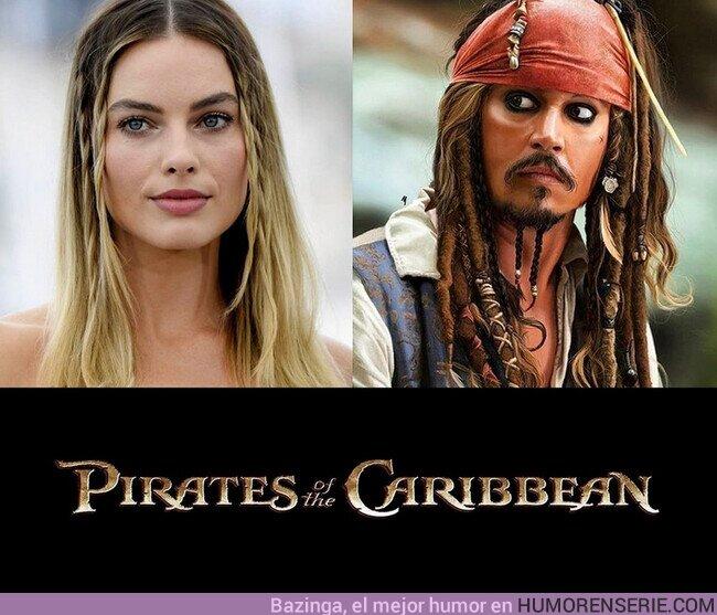 61719 - #MargotRobbie confirma que será la protagonista del reebot #PiratasDelCaribe que ya prepara #Disney