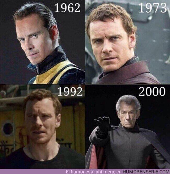 61749 - Nos quedaremos sin saber que le pasó a Magneto entre 1992 y 2000 que lo envejeció tanto