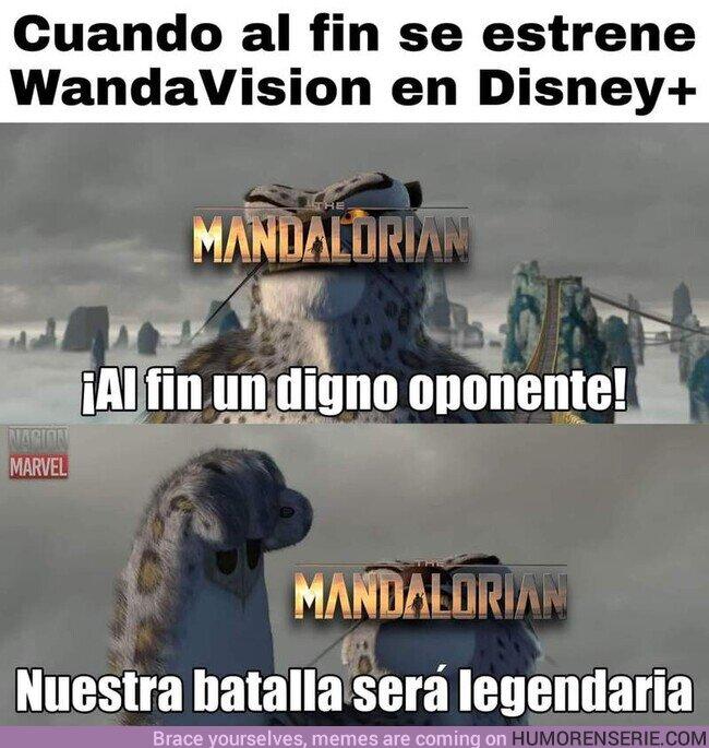 61909 - Por ahora, lo mejor de #DisneyPlus es #TheMandalorian