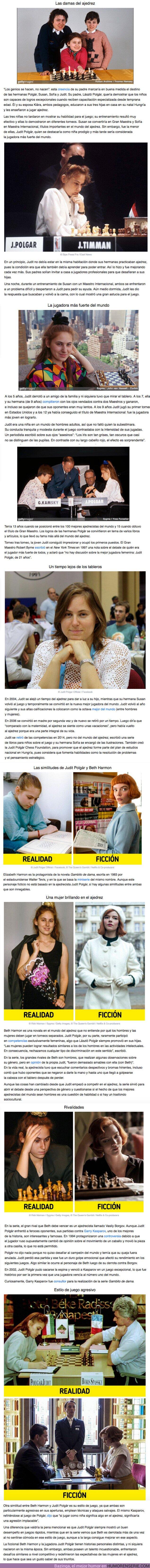 """62373 - GALERÍA: Quién es Judit Polgár, la ajedrecista con una historia similar a la de la protagonista de """"Gambito de dama"""""""