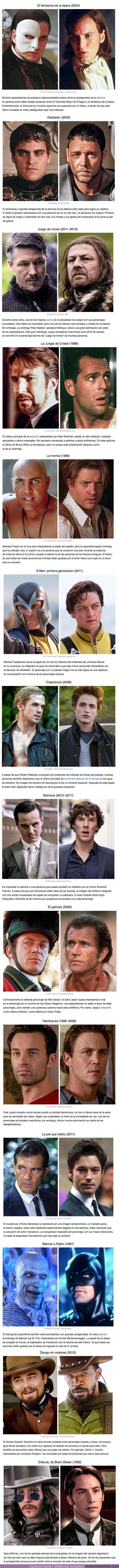 62428 - GALERÍA: 14 Casos cuando los villanos del cine se robaron los corazones de los espectadores