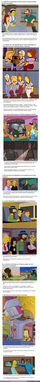 """62598 - GALERÍA: 8 Ocasiones donde """"Los Simpsons"""" llevaron la CONTINUIDAD a un nivel extremo"""