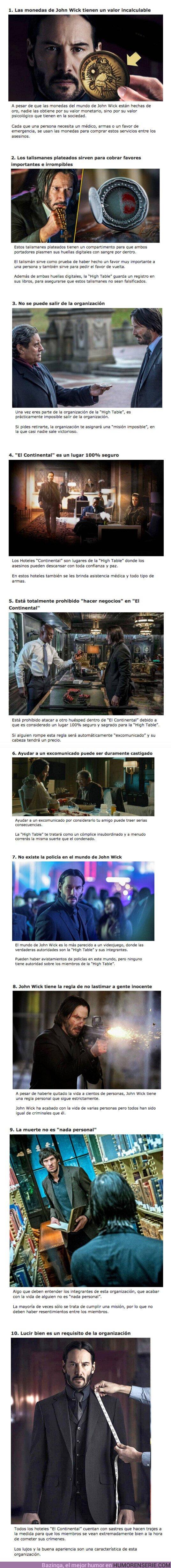 """62685 - GALERÍA: 10 Reglas que existen en el mundo criminal de """"John Wick"""""""