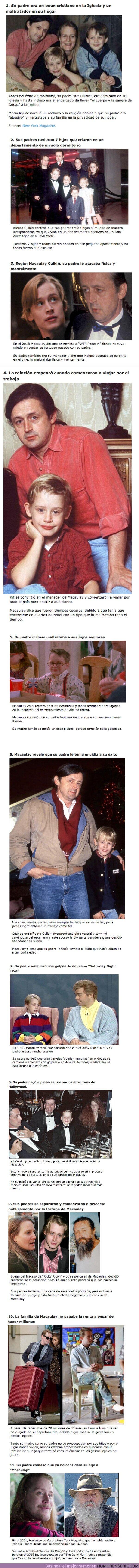 62838 - GALERÍA: 11 Escándalos del padre de Macaulay Culkin que destruyeron la carrera de su hijo