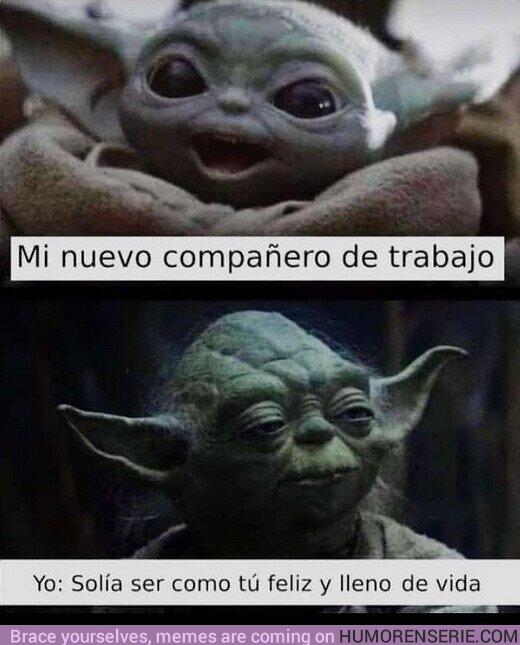 62889 - Baby Yoda es un ser lleno de inocencia