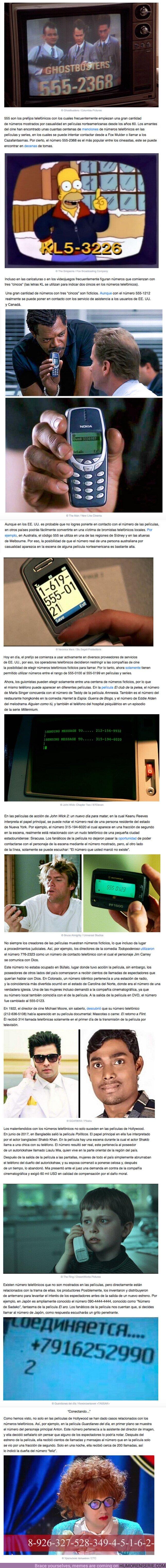 63106 - GALERÍA: Esto es lo que pasa si llamas a los números telefónicos que salen en las películas y series de televisión