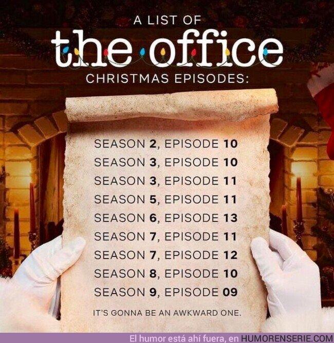 63153 - Lista de todos episodios Navideños de #TheOffice para disfrutar en Amazon