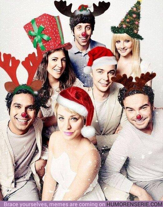 63405 - Esta semana es #Navidad, y los chicos de #TheBigBangTheory lo saben