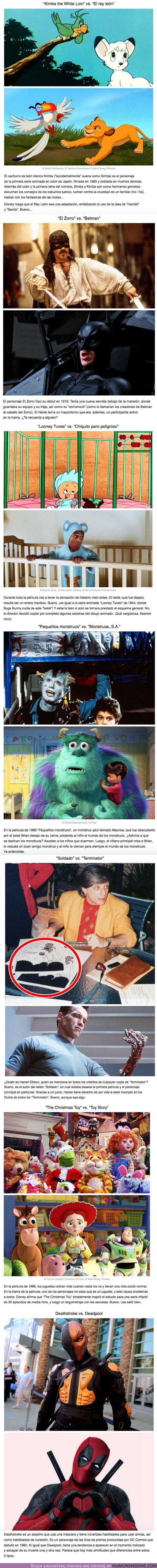 63469 - GALERÍA: 7 Personajes de películas famosas que no esperábamos que fueran copiados