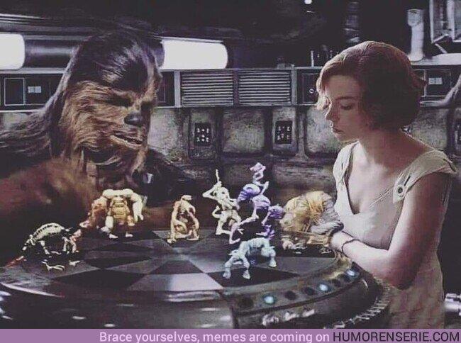 63485 - Chewbacca de dama
