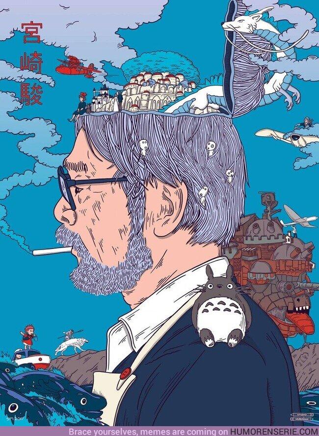 64148 - El director Hayao Miyazaki cumple hoy 80 años. Muchísimas felicidades
