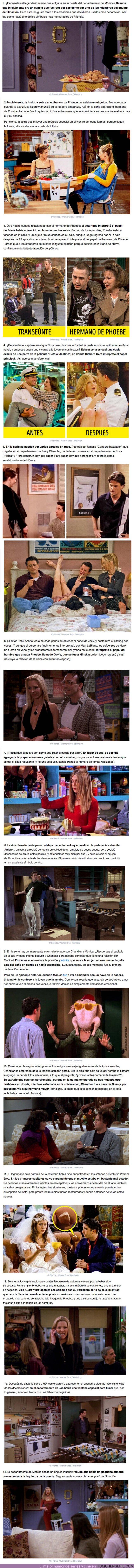 """64164 - GALERÍA: 14 Detalles curiosos sobre la serie de televisión """"Friends"""" que seguramente no conoces"""