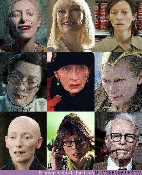 64215 - Los mil rostros de la maravillosa Tilda Swinton