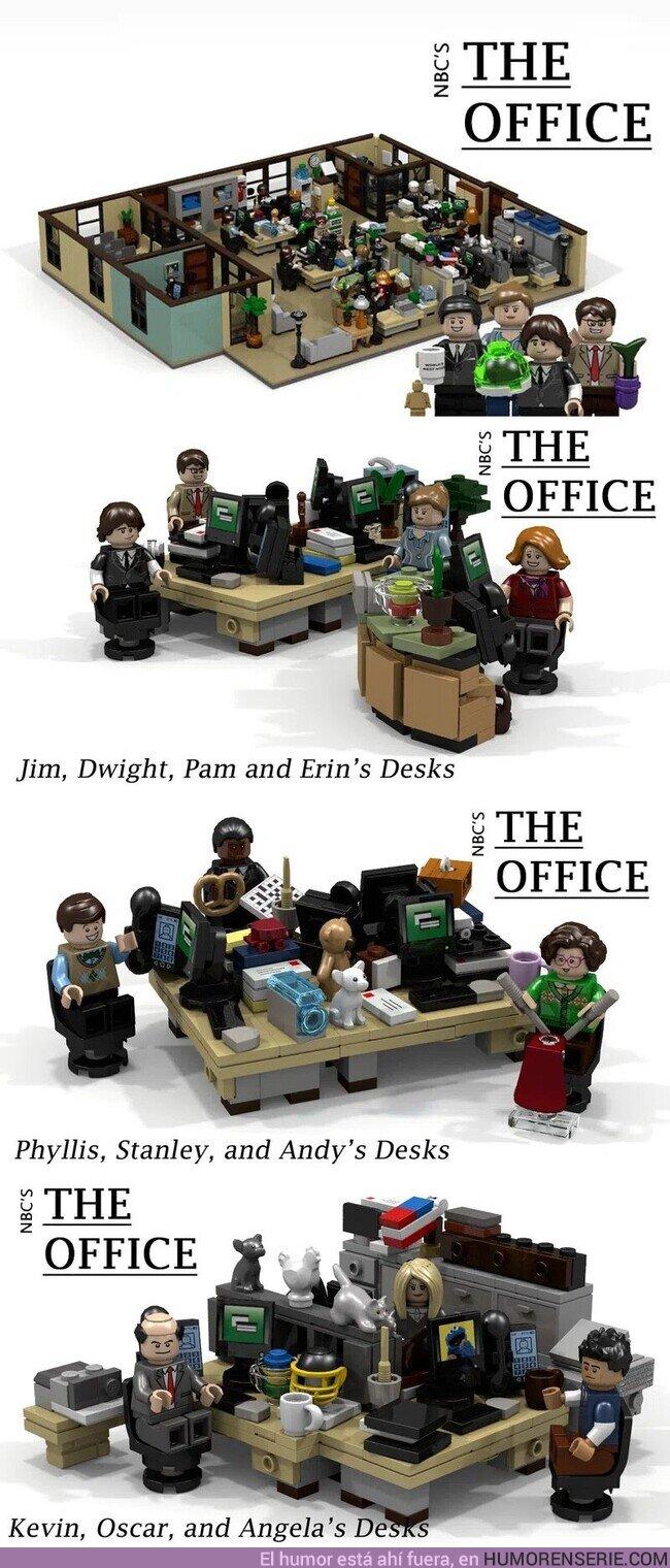 64613 - Necesito la oficina de The Office de Lego