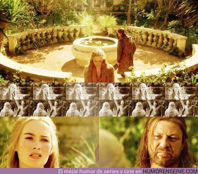 """64672 - """"Cuando juegas al Juego de Tronos, o ganas o mueres. No hay término medio.""""Cersei Lannister."""