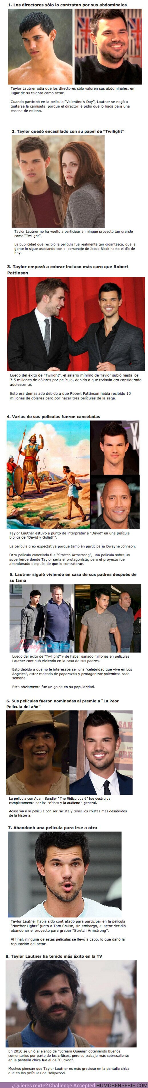 64882 - GALERÍA: 8 Razones por las que Hollywood ya no contrata a Taylor Lautner