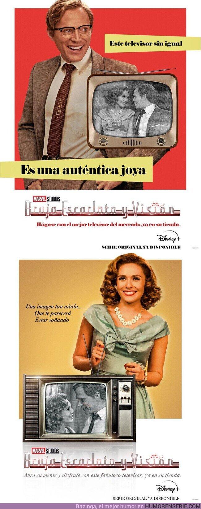 65002 - Nuevos pósters de #BrujaEscarlatayVisión