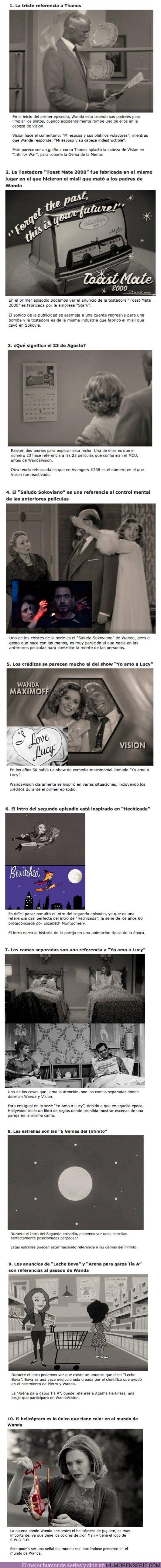 """65152 - GALERÍA: 10 Detalles ocultos que te perdiste en los primeros episodios de """"WandaVision"""""""