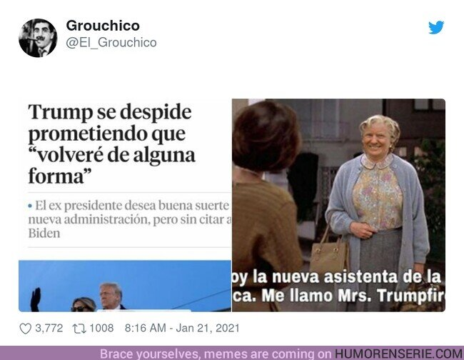 65161 -  Trump lo está intentando, por @El_Grouchico