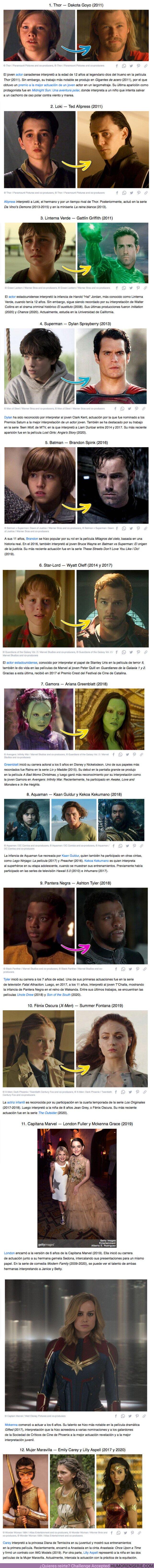 65296 - GALERÍA: 15 Actores infantiles que sorprendieron por su parecido con la versión adulta de los superhéroes