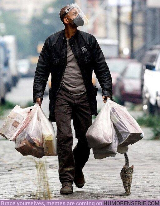 65584 - Cuando vuelves a ser el elegido para hacer las compras de la semana.